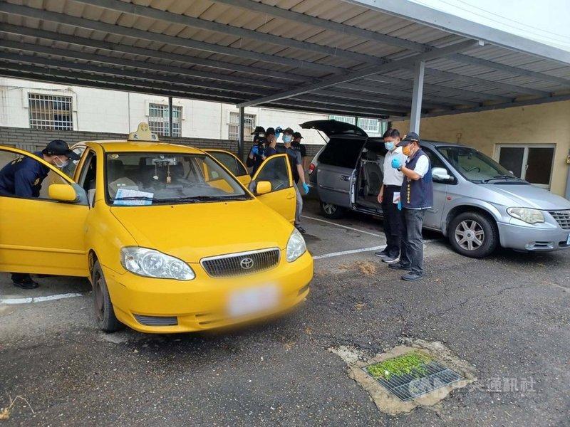 雲林縣西螺派出所13日發現某停車場內有輛可疑計程車,並在後車廂發現一具女屍,經查為失蹤逾50天的58歲蘇姓女子。(警方提供)中央社記者姜宜菁傳真  110年9月14日