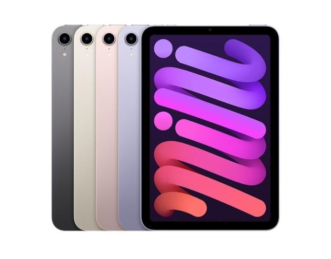 全新iPad mini支援5G網路,且新搭載的USB-C埠可支援最快5Gbps的資料傳輸,比前一代版本快上10倍。(圖取自蘋果官方網頁apple.com)