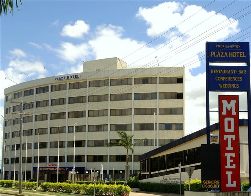 移居澳洲的台裔商人因不滿政府向他徵收「過高」的市政管理費,因此要爭取讓他經營的飯店脫離澳洲、獨立建國。(圖取自羅坎普頓廣場飯店臉書facebook.com)