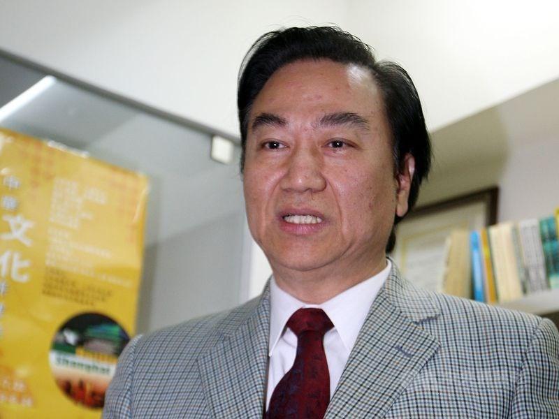 新黨前立委馮滬祥25日晚間因癌症過世,享壽73歲。圖為2009年照片。(中央社檔案照片)