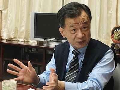 專訪法務部長邱太三