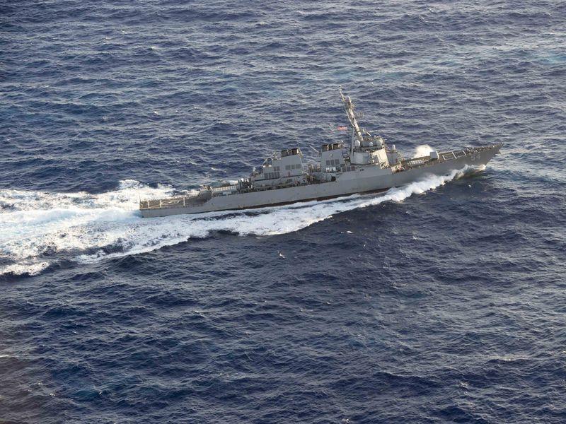 2美艦航經台海