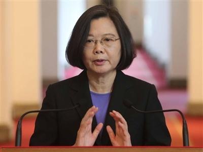 蔡總統首度發表迴廊談話
