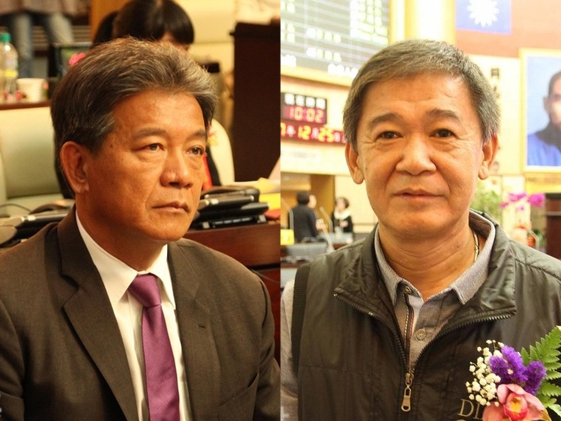 台南正副議長選舉綠營皆敗