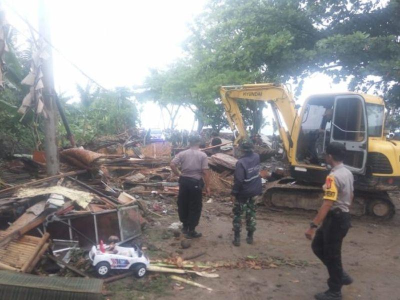印尼海嘯傷亡慘重