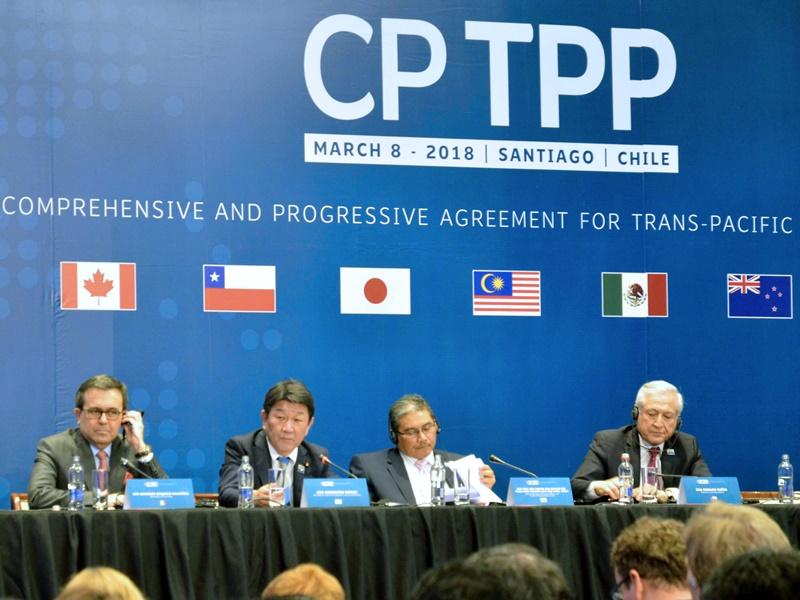 台灣爭取加入CPTPP