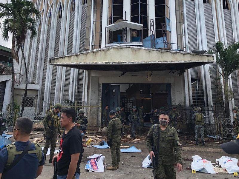 菲律賓南部教堂爆炸案
