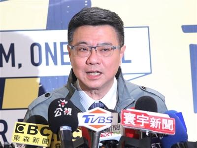 卓榮泰當選民進黨主席