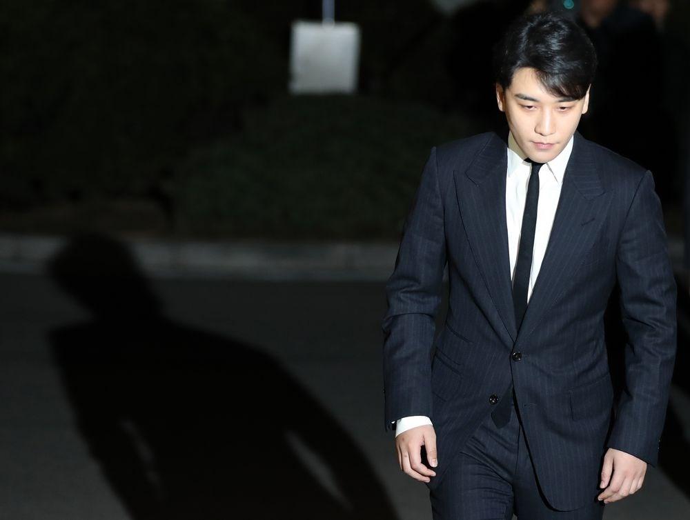 勝利事件延燒韓國娛樂圈