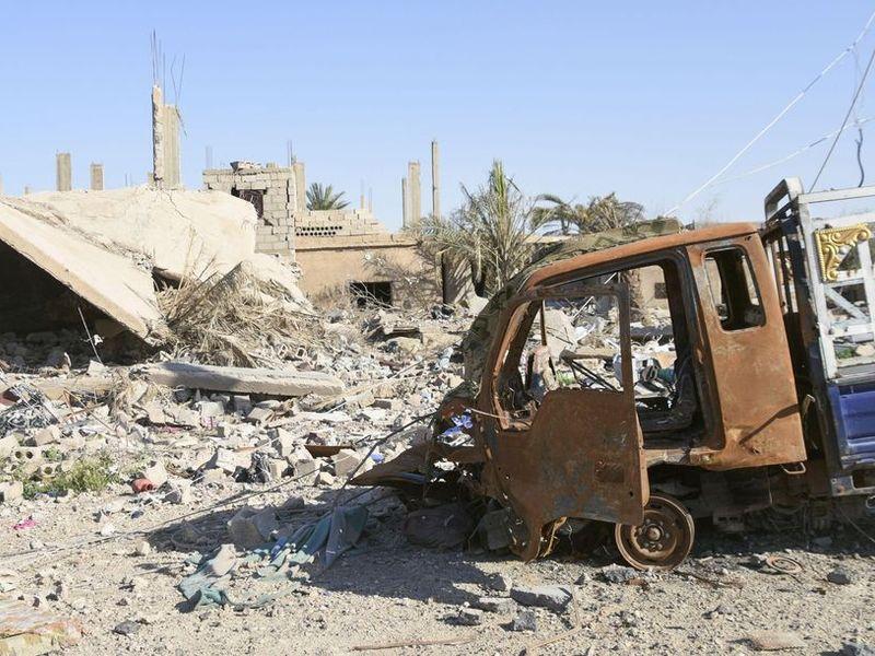 敘利亞民兵聲稱擊潰IS