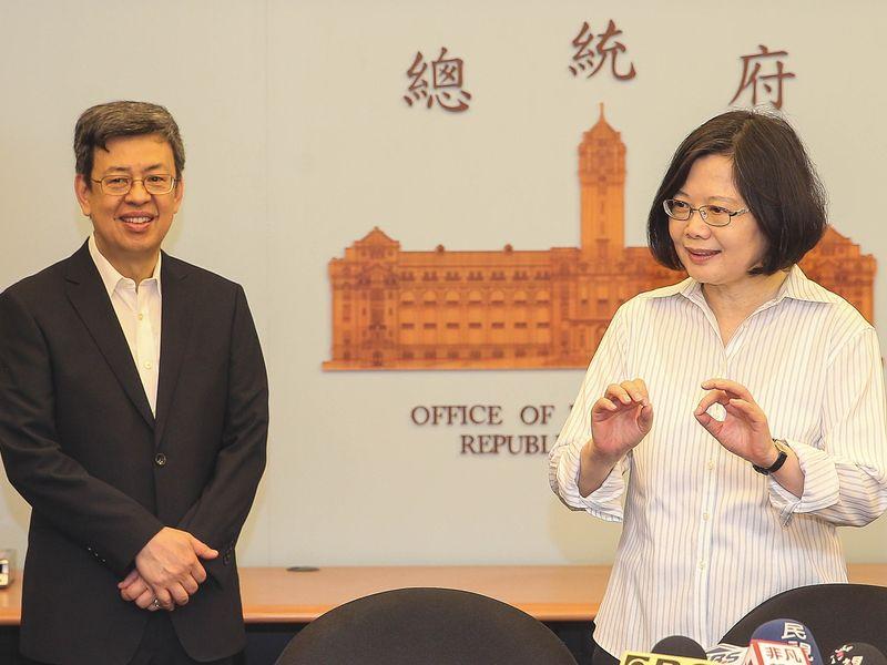 陳副總統宣布階段任務將告段落