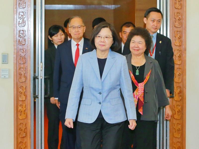 總統出訪南太3友邦