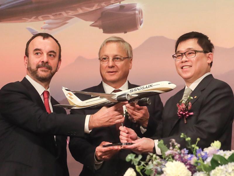 星宇航空購17架空巴A350