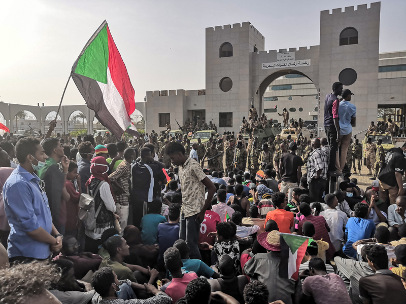 蘇丹總統巴席爾下台