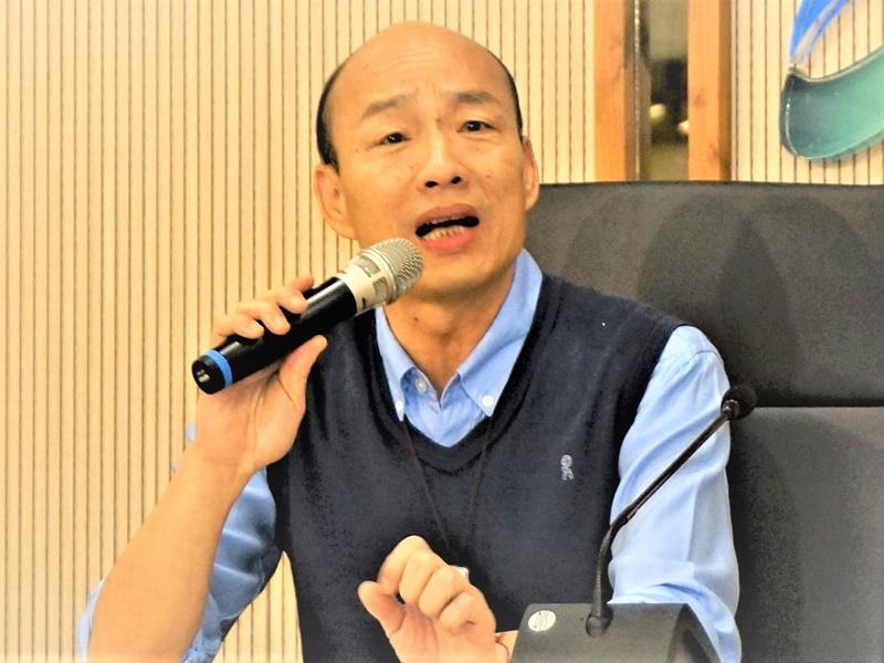 韓國瑜不參加總統初選民調