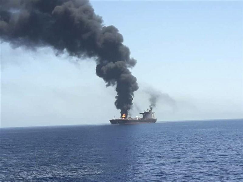 2艘油輪中東阿曼灣遇襲