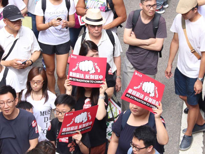各界關注香港反送中