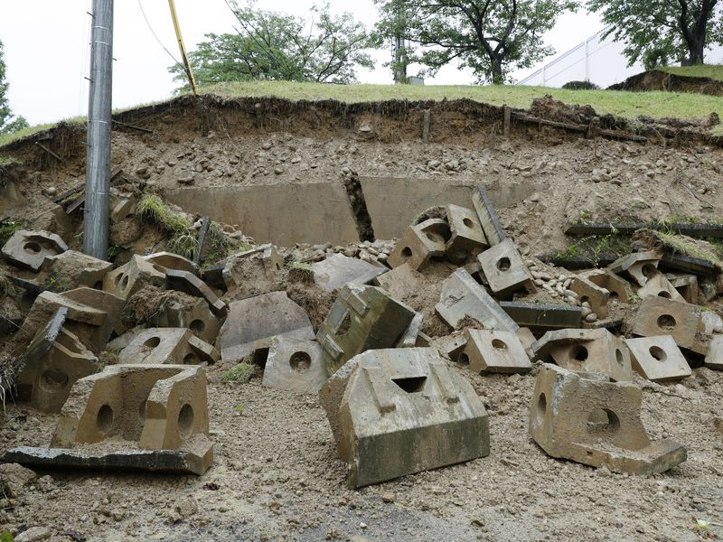 日本山形縣外海6.7地震