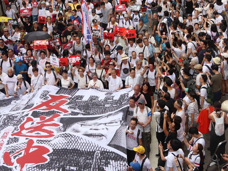香港反送中示威延燒
