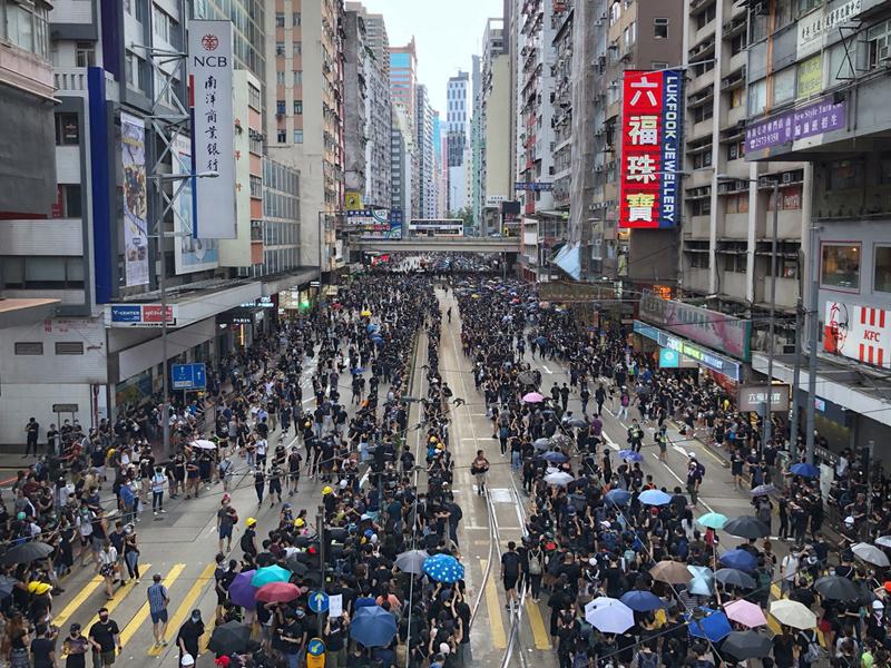 香港728自主遊行
