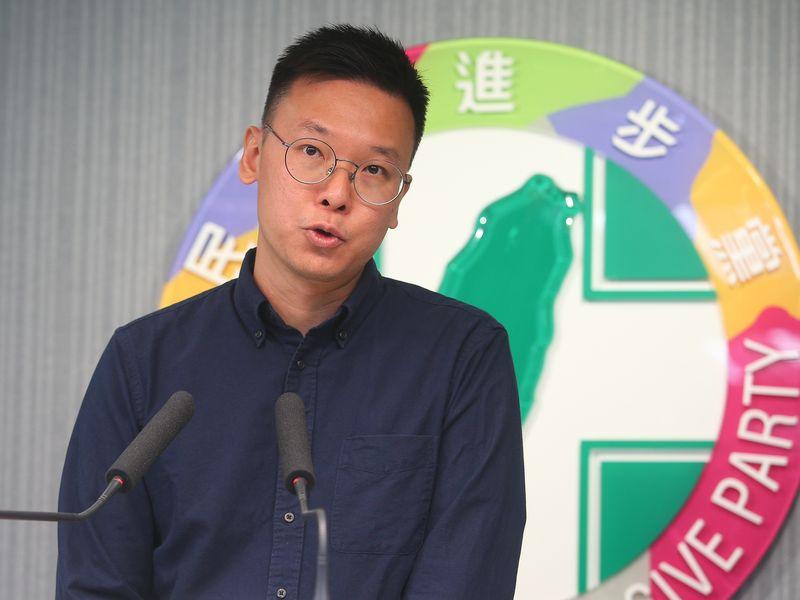 林飛帆任民進黨副秘書長