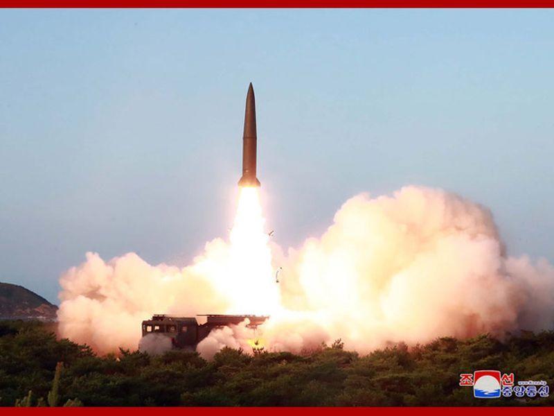 北韓再射彈