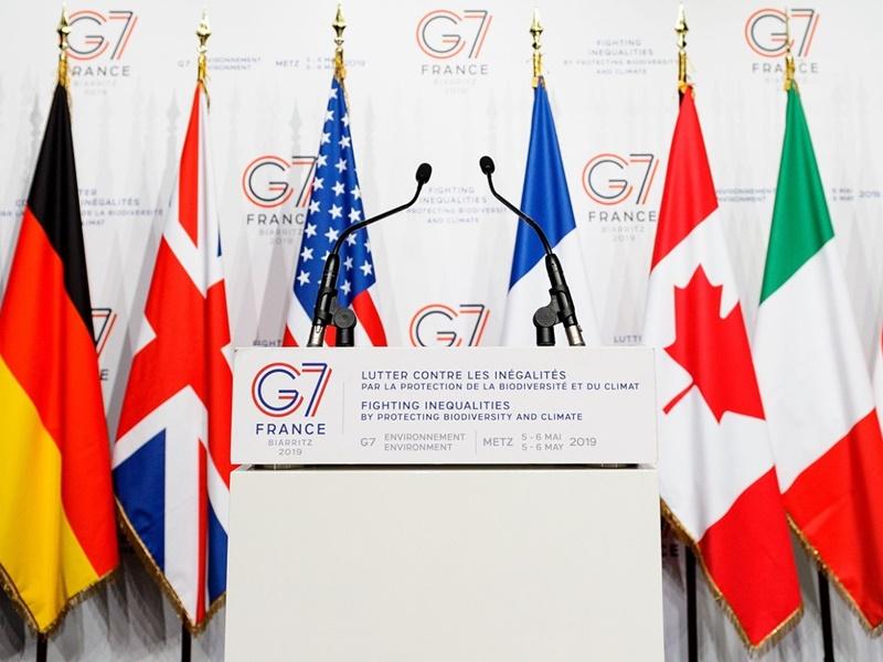 G7峰會法國登場