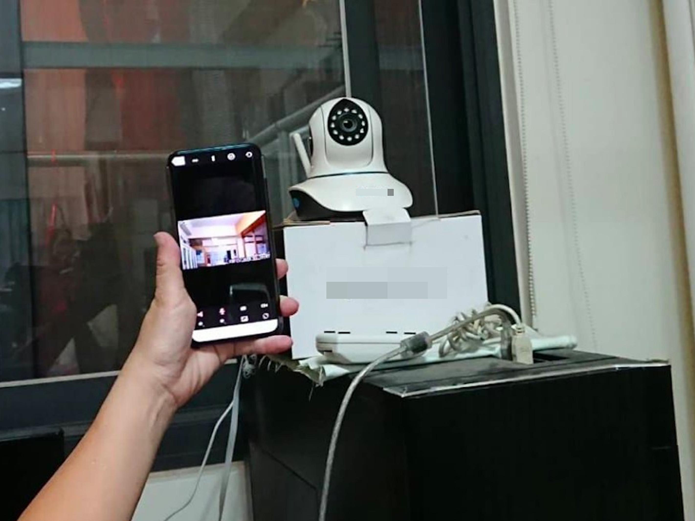 網路攝影機隱私漏洞