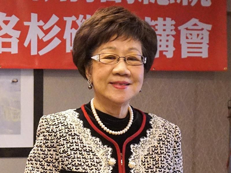 呂秀蓮投入總統大選