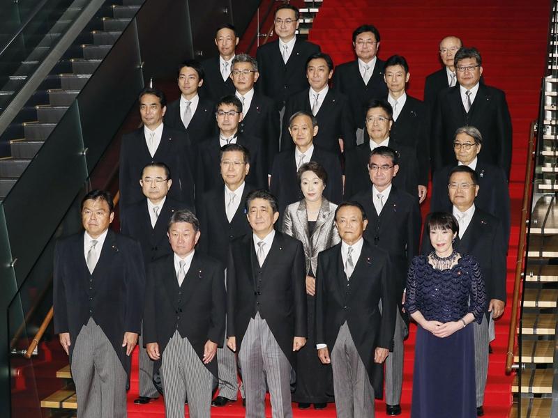 日本內閣改組