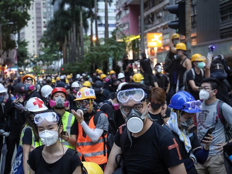 香港禁蒙面法違憲