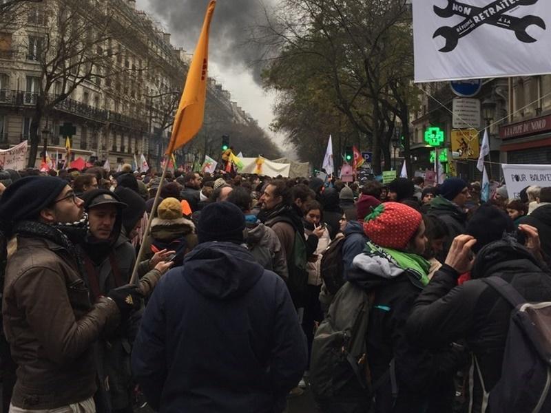 法國退休金改革引發全國罷工