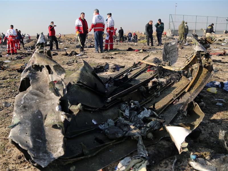 烏克蘭航空伊朗墜機