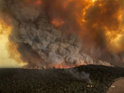 澳洲叢林野火