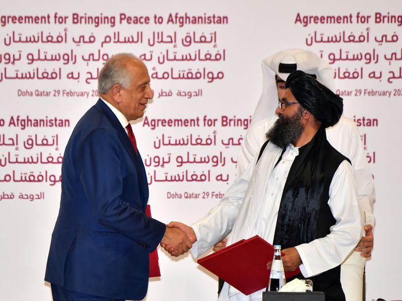 美國與塔利班簽和平協議