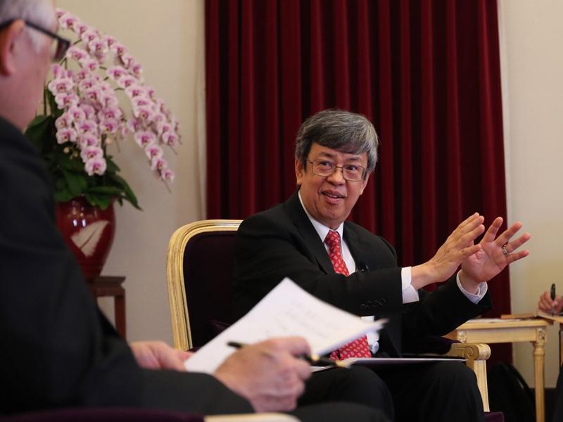 陳副總統專訪