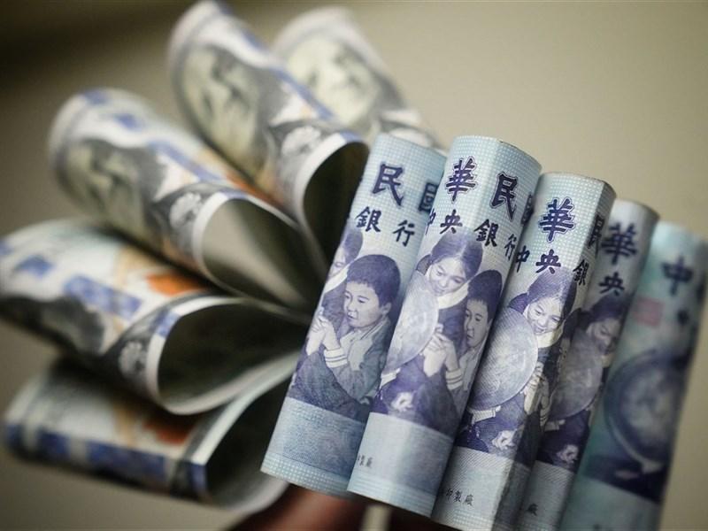 台灣錢潮滾滾