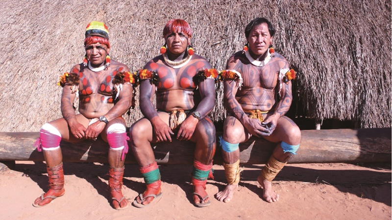 生活在亞馬遜地區的奇庫魯族人。(國家地理)