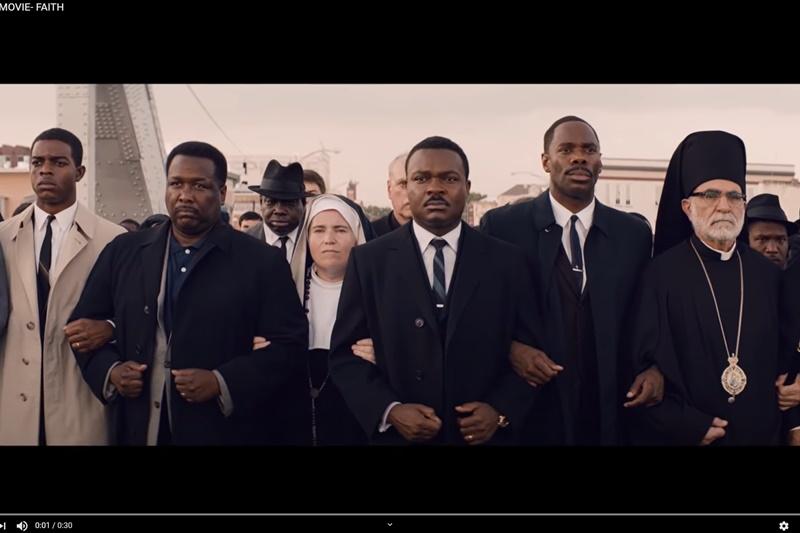 電影《逐夢大道》敘述黑人爭取投票權的歷史。(擷自Paramount Pictures YouTube)
