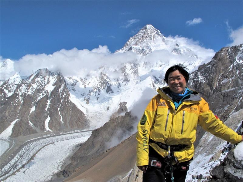 江秀真是全球第一個從聖母峰南、北兩側都完攀登頂的華人女性登山家,更是完成攀登世界七大洲頂峰的首名華人女性。(江秀真提供)