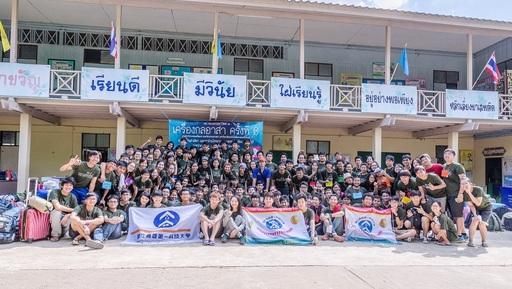 第一科大與泰國姊妹校──泰國國王科技大學(KMUTT),自2013年起合作舉辦跨校國際志工聯合服務(圖/沈亮潁提供)