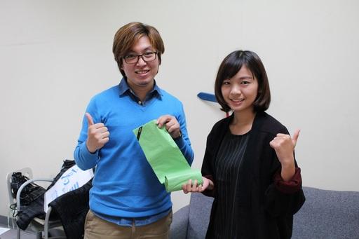 陳建志老師看到學生入圍比自己得獎還令人高興