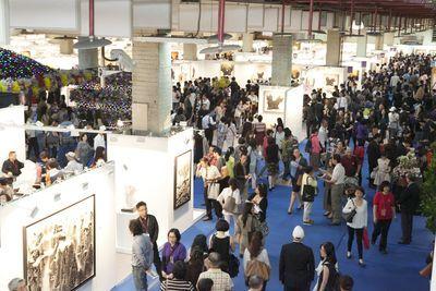 「2016台北新藝術博覽會」47國315位藝術家參展,國際藝薈,各有亮點。