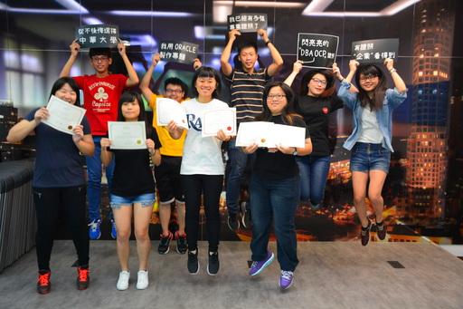 翱翔於資料庫領域  中華大學助學生啟航