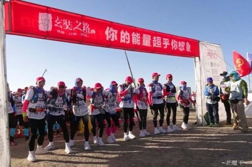 跑步絕對不可缺少運動機能壓力褲。照片為政大戈10隊長陳俊傑提供。