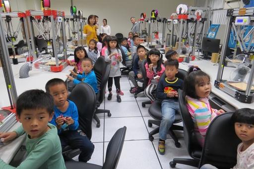 創設系將搭載旗艦型3D列印設計中心,設計中小學適用的課程,讓小朋友們的創意能夠實現