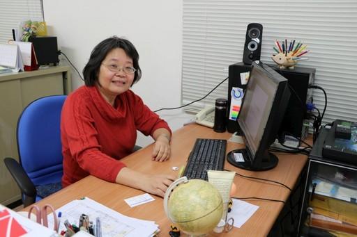 張乃文教授扮演稱職的「經師」及「人師」的角色。