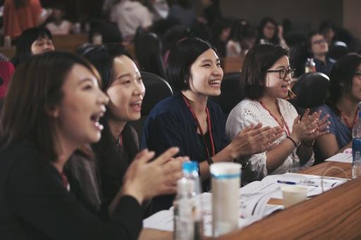 佳音英語全國總師訓「2017英語教師樂學營」,納入桌遊、繪本及腦科學等最夯的教學法和元素,活潑創新的課程設計,鼓勵台灣的英語教師突破教學框架。