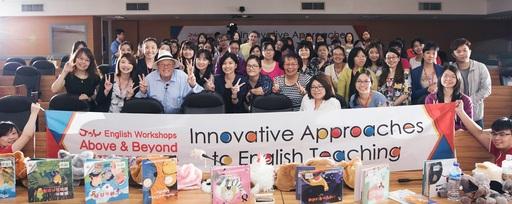 佳音英語舉辦全國總師訓-「2017英語教師樂學營」,參加在台北首場培訓的英文老師收穫滿滿。