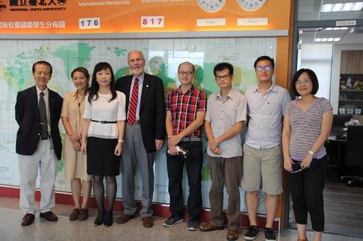 美國莫瑞州立大學(Murray State University)代表至臺北大學訪問